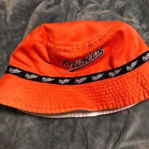 Reversible Orioles Bucket Hat